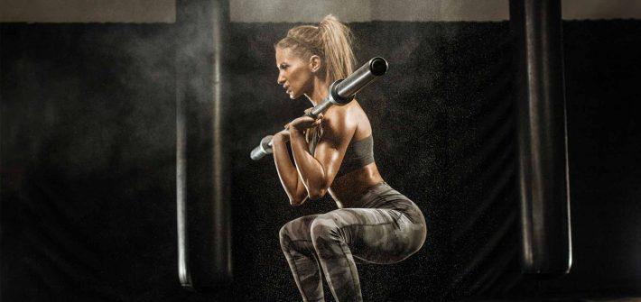 Les femmes doivent se muscler le corps en entier