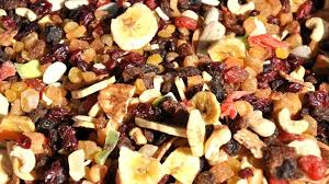 fruits secs glucides