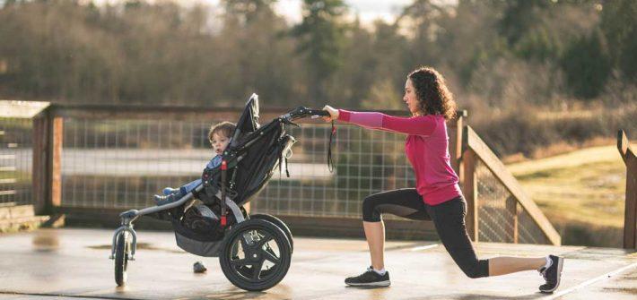 Faire du sport quand on est une maman active, c'est possible