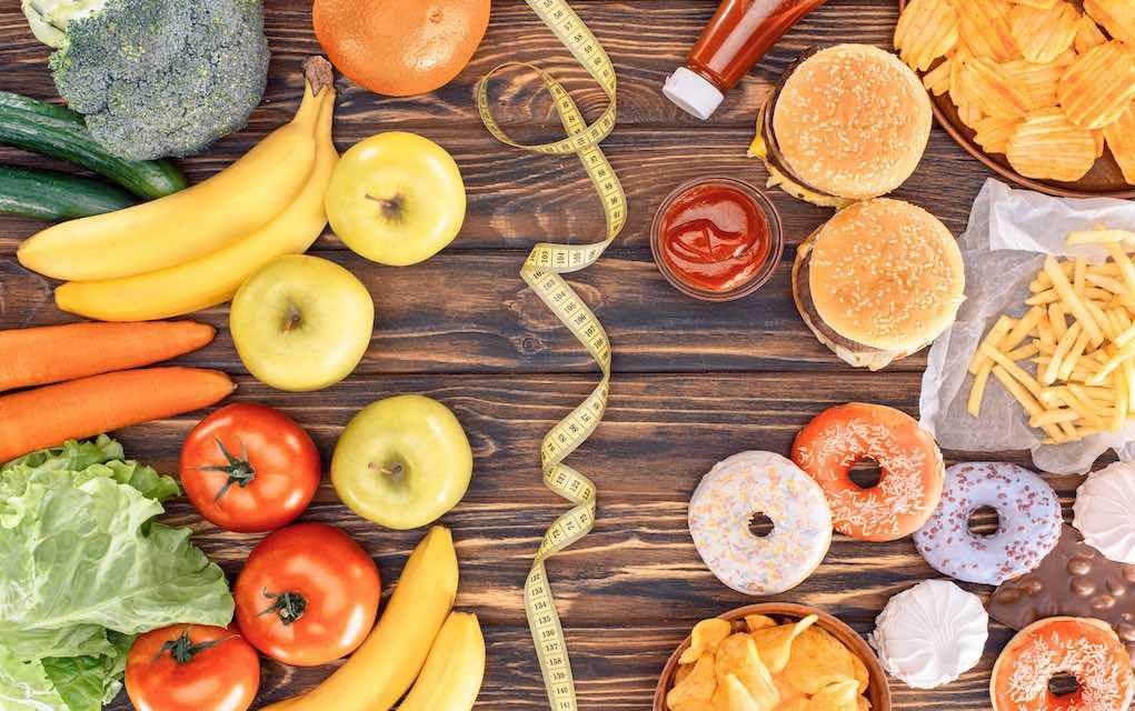 Garder la forme en mangeant des produits naturels