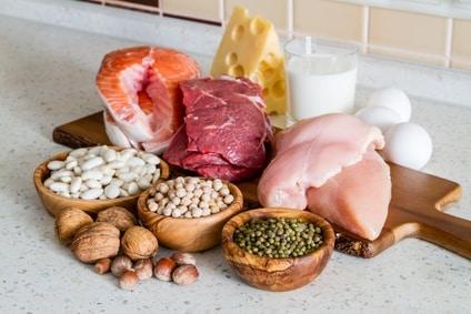 Manger sainement, importance des protéines